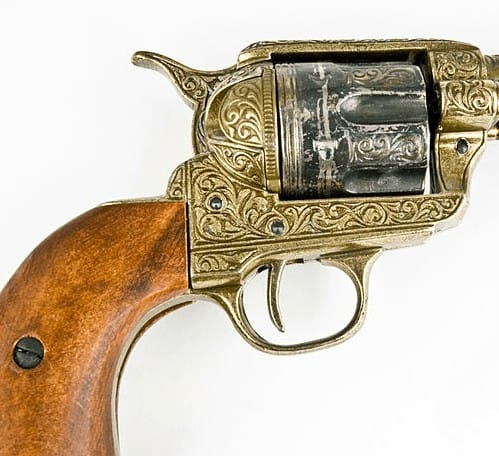 Antique revolver gun appraisal