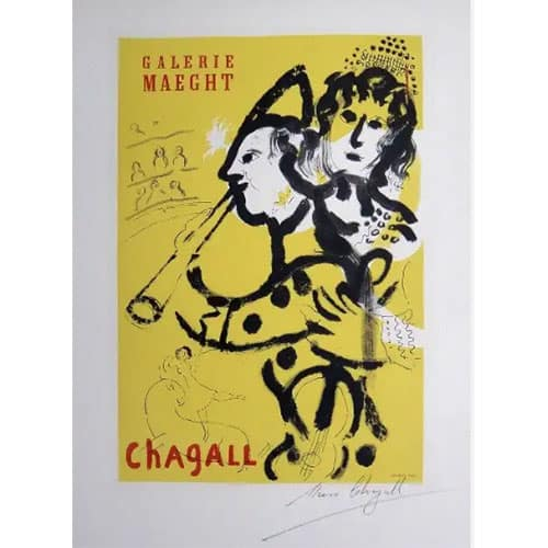 Marc Chagall print for appraisal