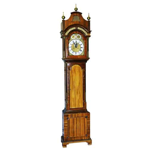 Antique grandfather clock valuation at e-ValueIt