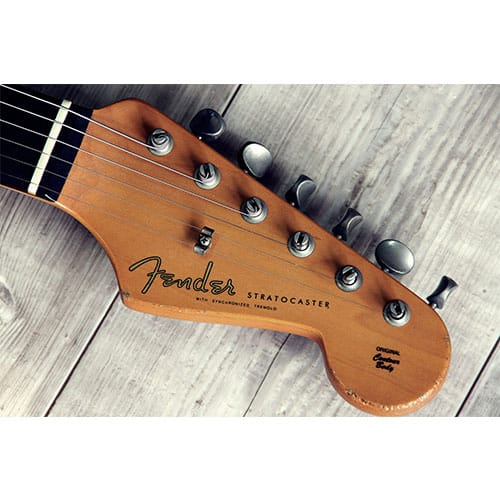 Vintage Fender guitar Stratocaster appraisal