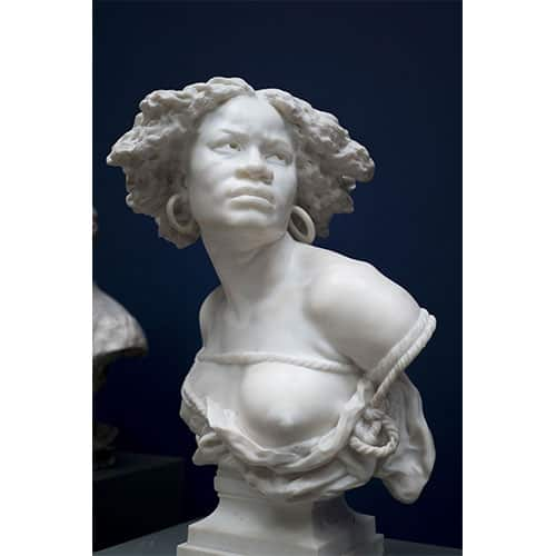 Female Marble bust sculpture valuation